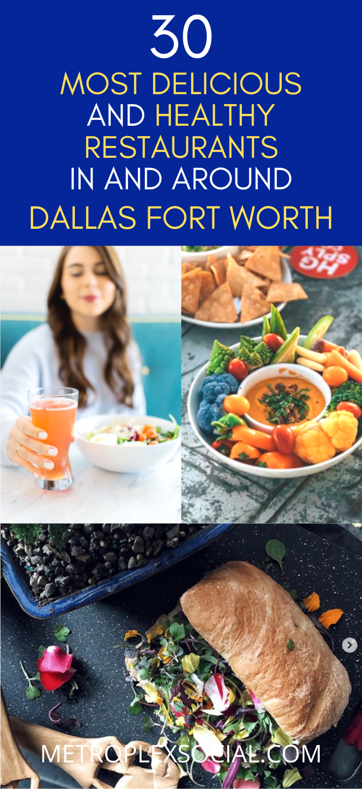 Where To Find The Best Healthy Restaurants Near Dallas Fort Worth In 2020 Healthy Restaurant Vegan Restaurants Healthy