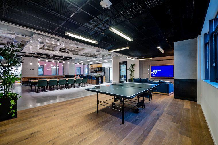 沙發就在你座位旁邊!微軟以色列辦公室的開放型工作空間 設計王 Ping pong table, Home