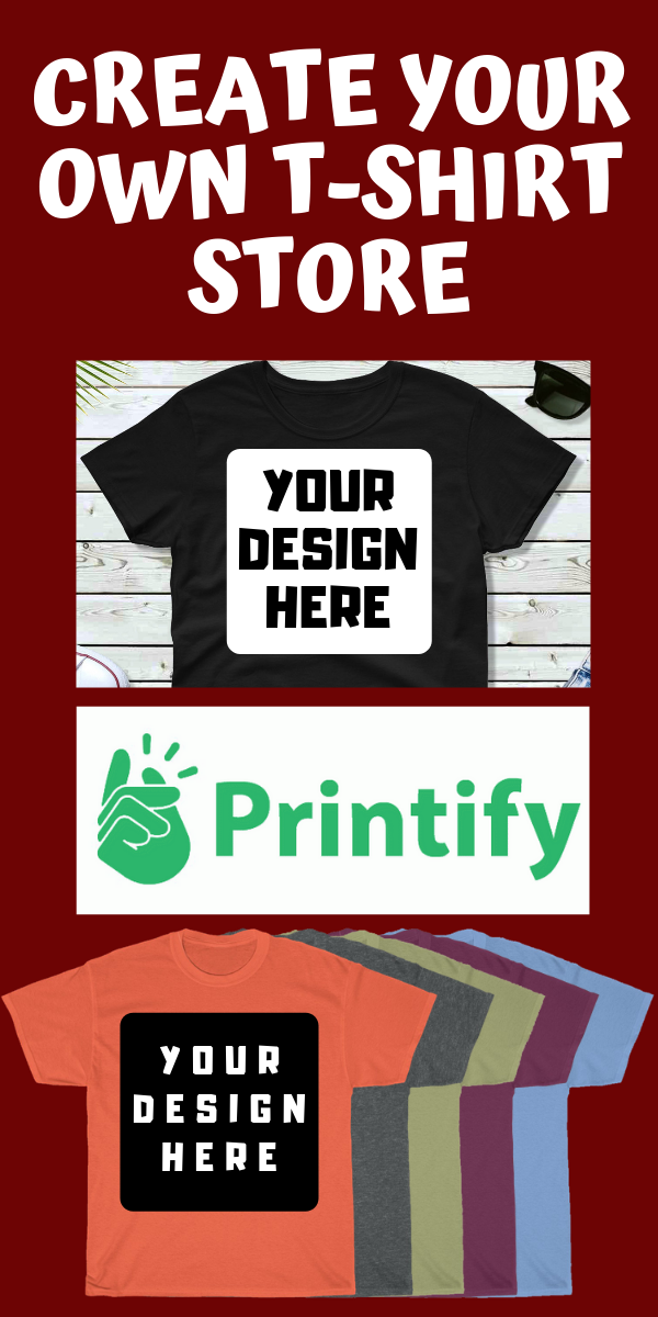 Home | Printify | Design your shirt, Printed shirts, Mens tops