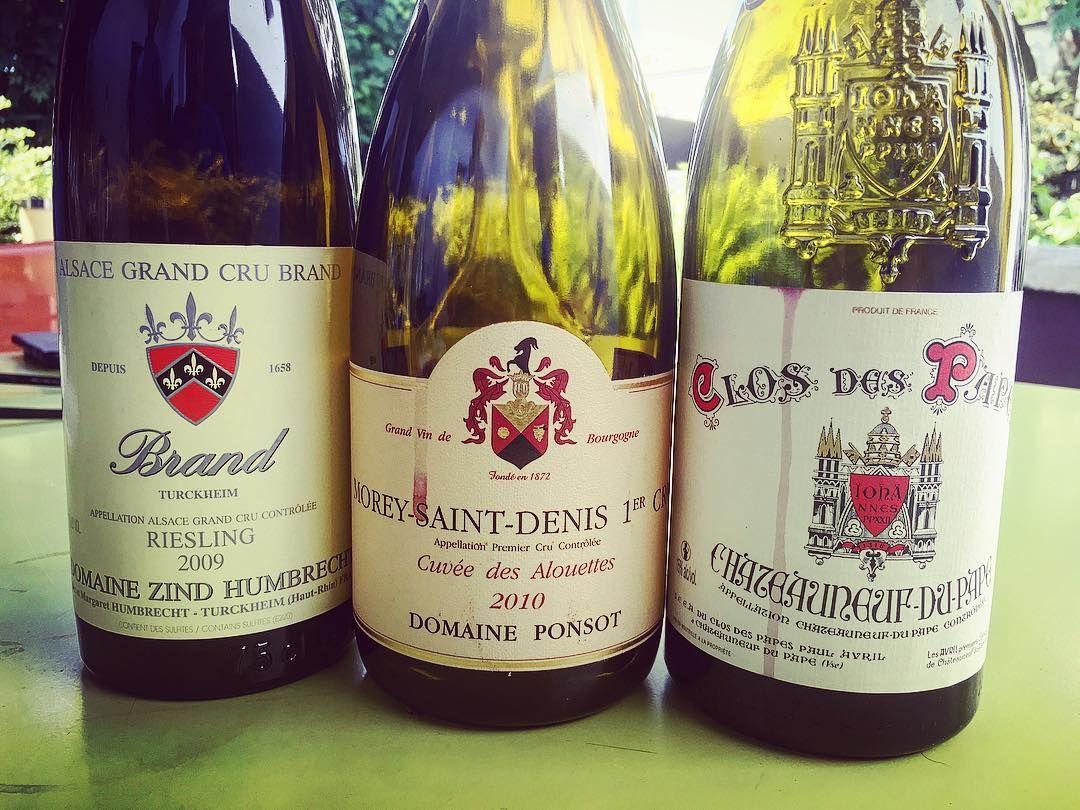 Burgundy Chateauneufdupape Moreysaintdenis Alsace