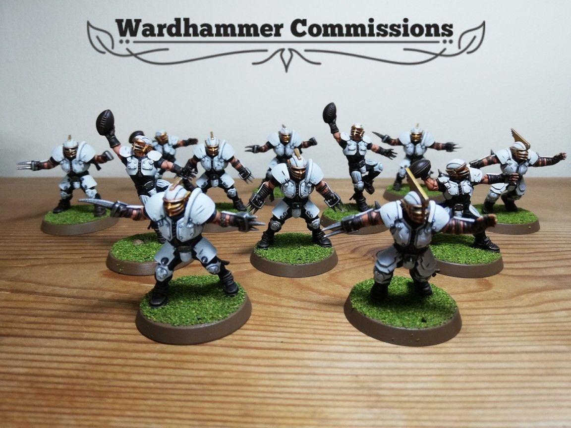 Art Card Warhammer Bloodbowl Human post