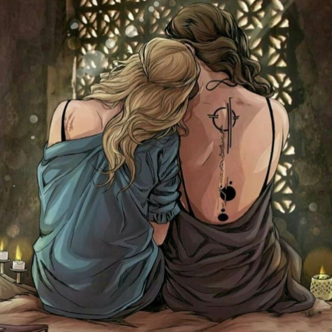 "To The Stars Who Listen � on Instagram: ""ACOTAR & TOG ""Feyre and Aelin Fanart"" (does anyone know the incredible artist) & ""My Ship!!"" & ""Rhysand Mum during Rhysand's and…"""