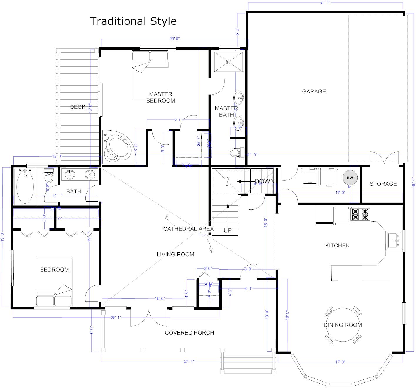 Smartdraw House Design Software
