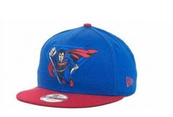 Casquette Superman New Era Snapback Bleu Rouge Caps 6 Casquette New Era Pas Cher