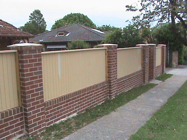 Brick Fences Sydney Bricklayer For Brick Fences Sydney Nsw