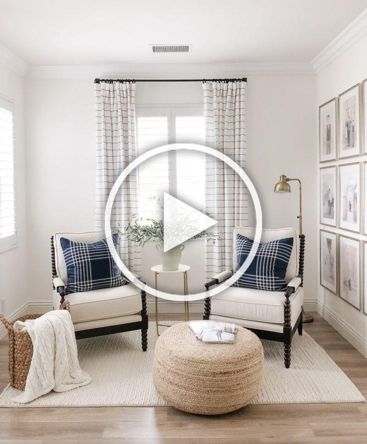 Home Decor Trends 2019. Checkout these popular new ideas for kitchens, bedrooms, living rooms, and bathrooms! See the latest interior designs and decor for any decorating style. Pouf / Ottoman is #10 on the list! #joyfullygrowingblog #interiordesign #homedecor