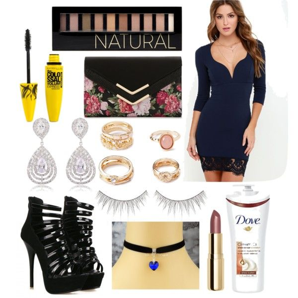 #5375 by breona-nytalia on Polyvore featuring polyvore мода style Mix No. 6 Forever 21 shu uemura Maybelline H&M Dove