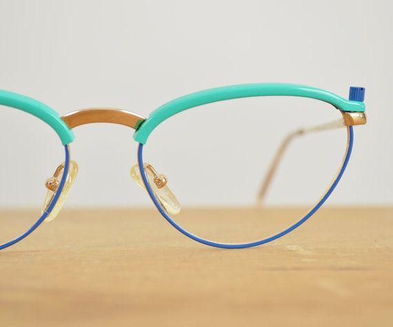 be0e342ba49 Vintage Cateye Glasses Frames Poul Stig Design 50s by glorywild