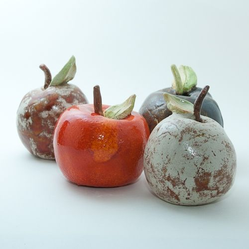 Keramik Apfel Von Isi Way Com Keramik Projekte Keramik Topferei