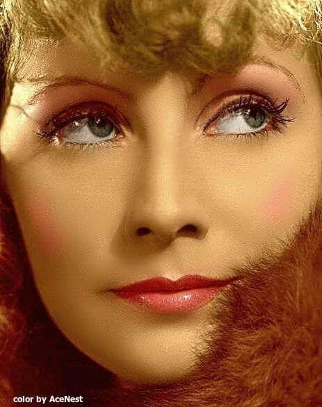 Greta Garbo // 1930s make up