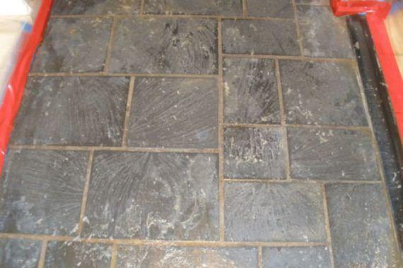 Stone Floor Polishing Project Stone Flooring Polish Floor Flooring