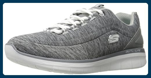 wholesale dealer 51836 009f2 Skechers Damen Synergy 2.0-Headliner Ausbilder, Grau (Grey ...