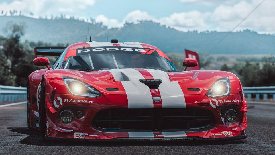 Forza Horizon 3 Dodge Viper Srt Muscle Car Front Wallpaper