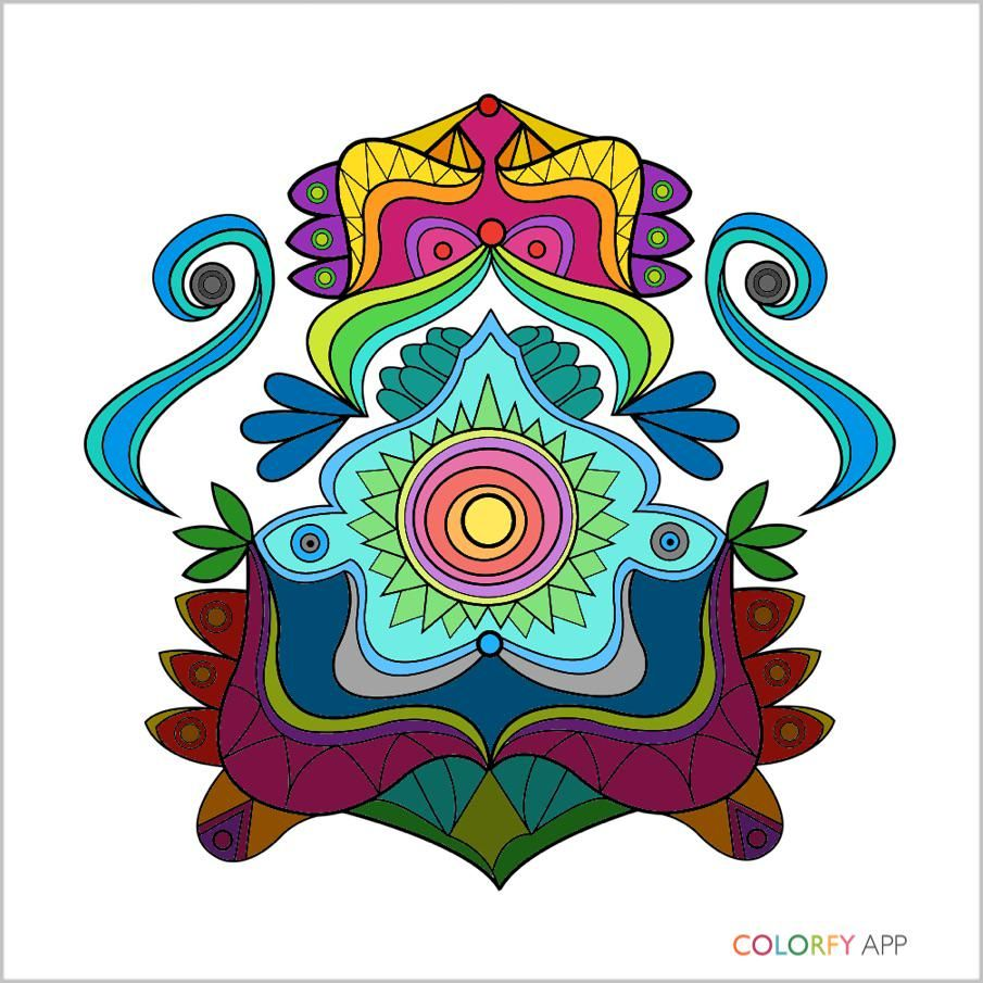 Coloring Books Itunesapple Us App Colorfy