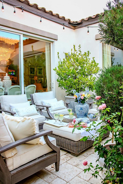 Courtyard - Randi Garrett Design in 2020 | Outdoor ... on Courtyard Ideas On A Budget id=67862