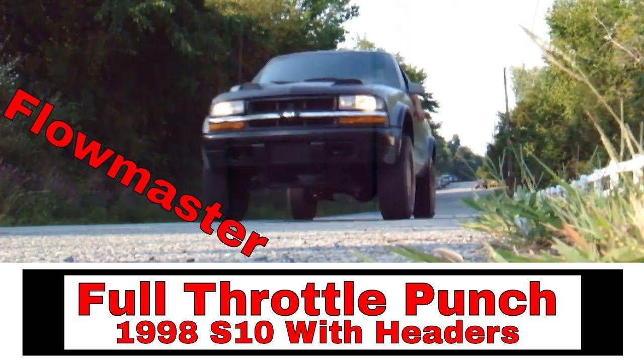 1998 S10 ZR2 Custom Headers & Exhaust | Youtube videos ...