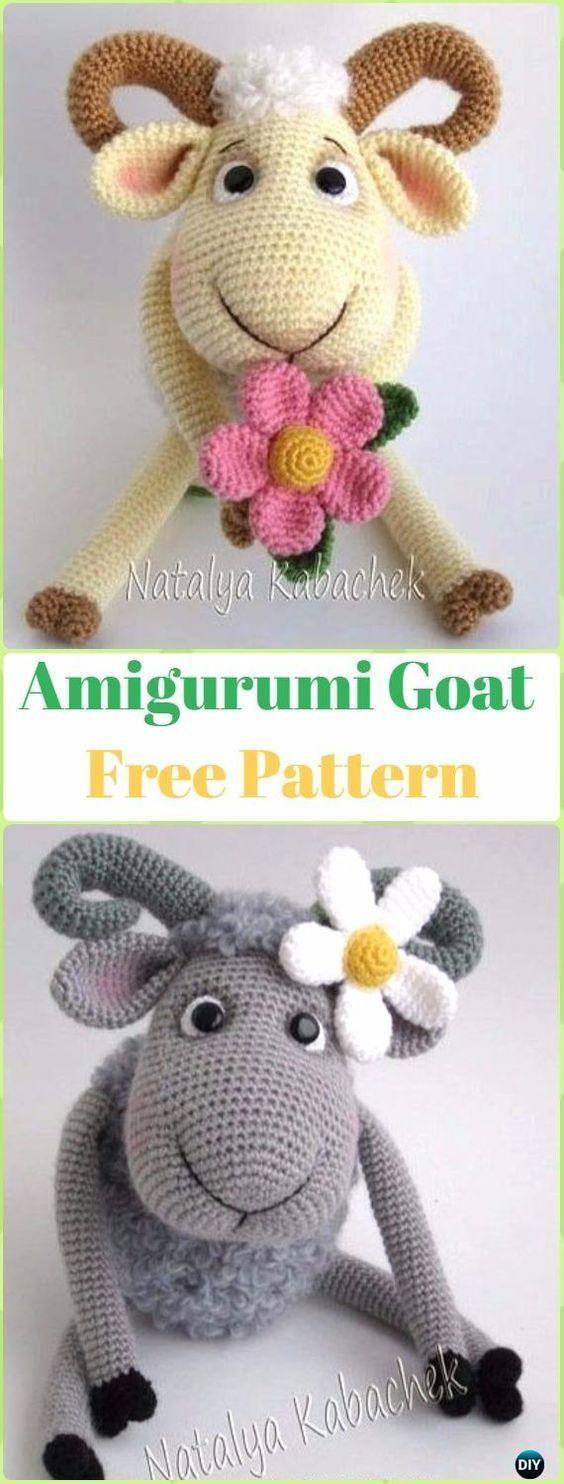 Amigurumi Goat Free Pattern - Crochet Sheep Free Patterns ...
