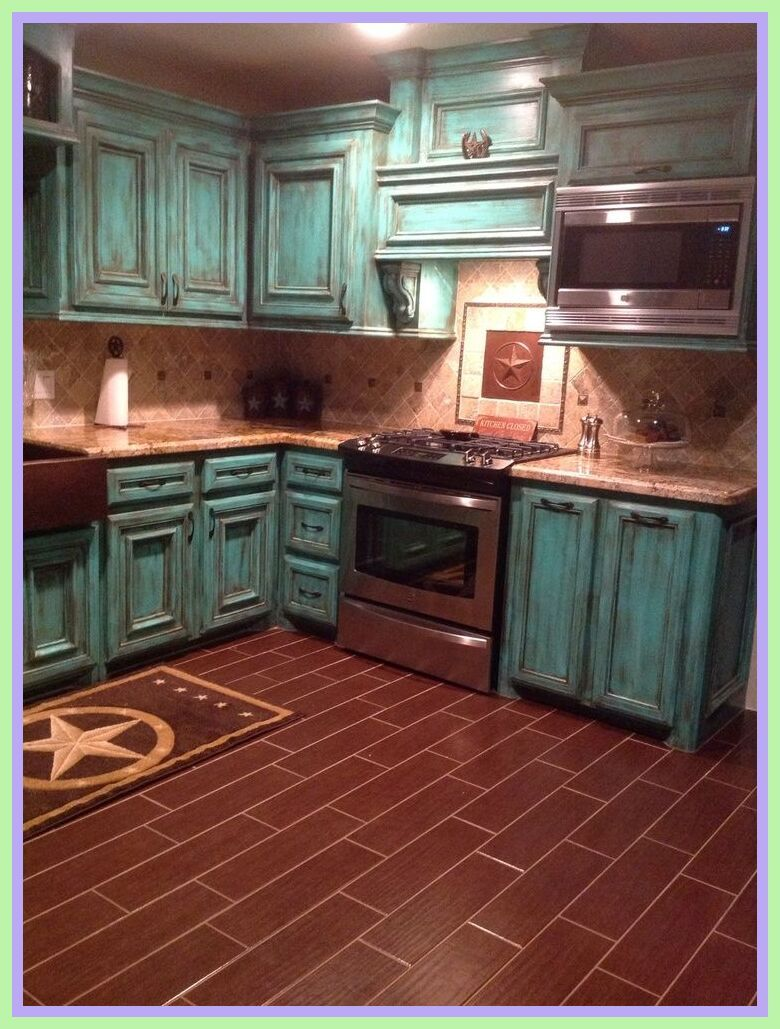 57 Reference Of Kitchen Wall Decor Turquoise In 2020 Warm Home Decor Beautiful Kitchen Cabinets Rustic Kitchen Cabinets