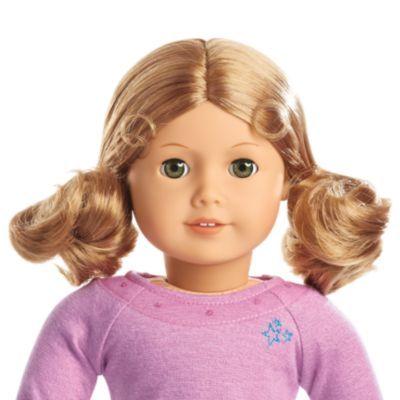 Truly Me Doll Light Skin Curly Blond Hair Hazel Eyes