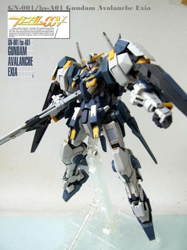 OO 1/100 GN-001/hs-A01 Gundam Avalanche Exia - Gundam Kits Collection News and Reviews
