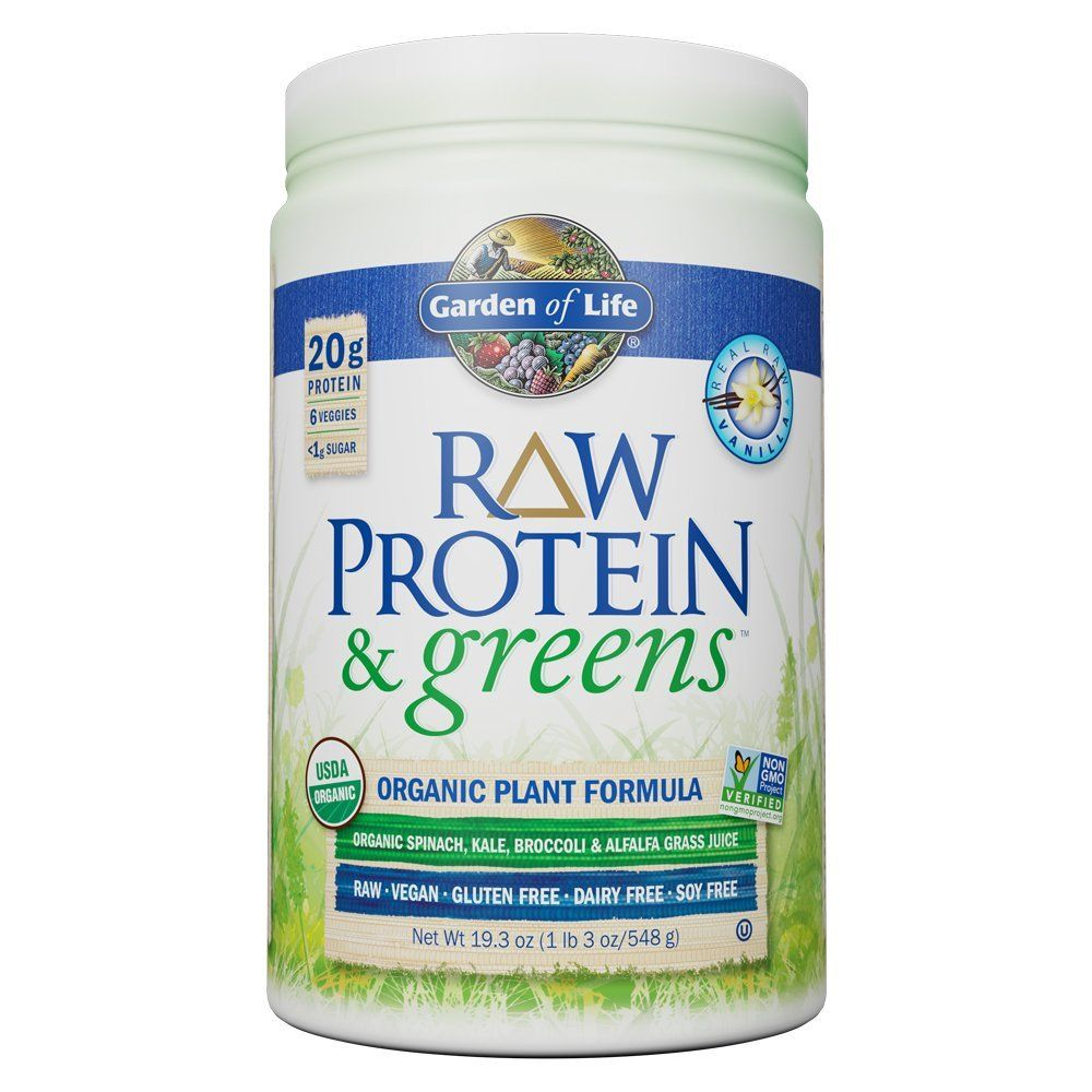 Garden of Life Greens and Protein Powder Organic Raw