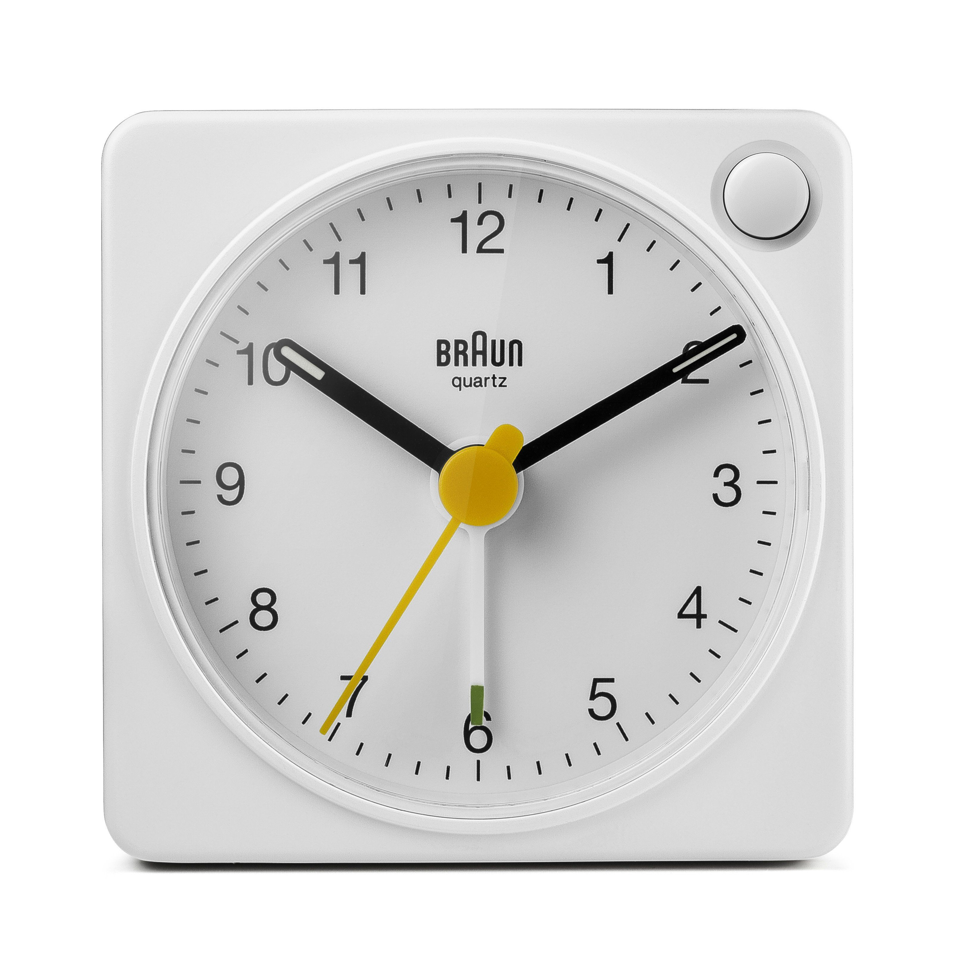 Braun Classic Travel Alarm Clock Bc2x In 2020 Braun Alarm Clock Alarm Clock Clock