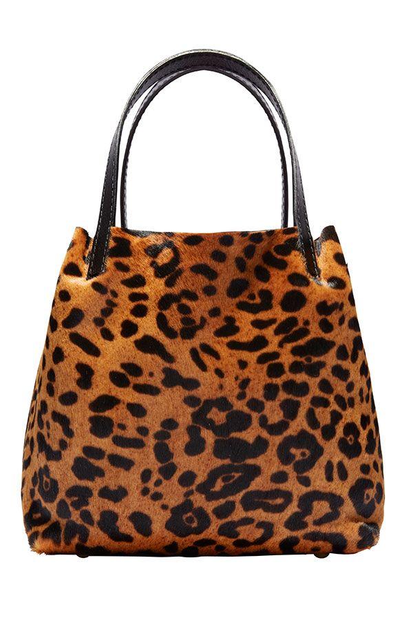 """I love my Mini Matryoshka handbags."" CH Carolina Herrera, $975, 310-276-8900. Don Penny/Studio D.  - HarpersBAZAAR.com"