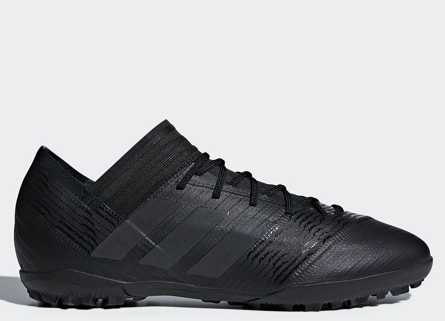 football  soccer  futbol  adidasfootball Adidas Nemeziz Tango 17.3 TF Nite  Crawler - Core Black   Core Black   Hi-Res Green 8370f120ba49b