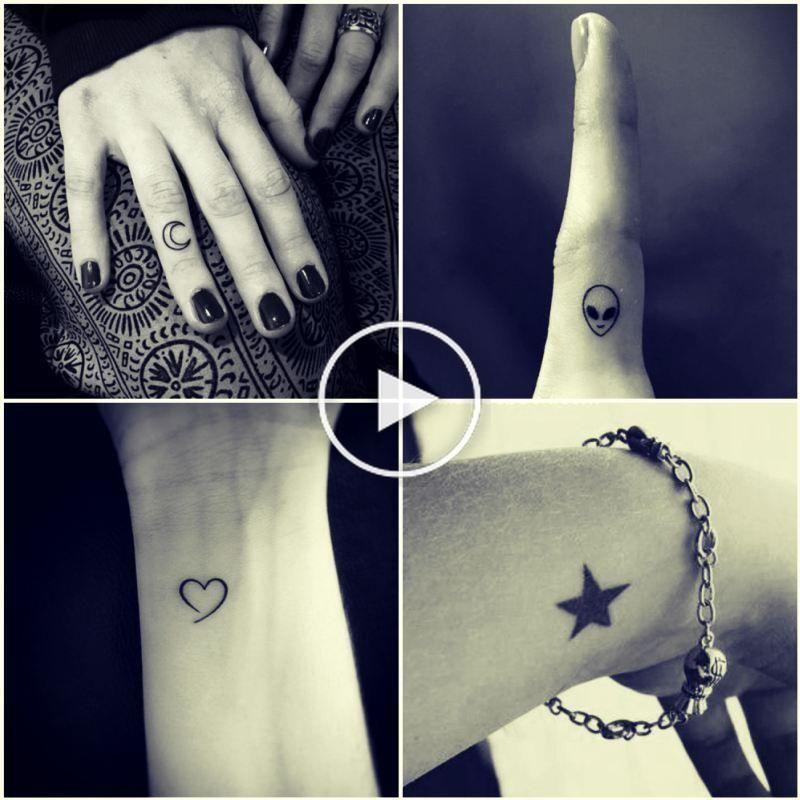 Pin En Pequenos Tatuajes De Manos
