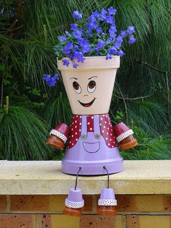 dsc05479 bricolages pinterest pots pots de fleurs et pots de jardin. Black Bedroom Furniture Sets. Home Design Ideas