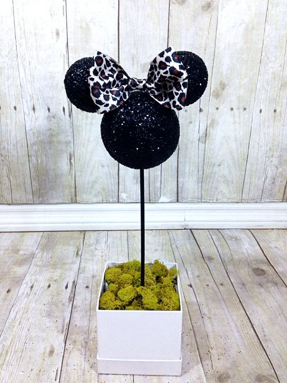HEAD ONLY with bow. Custom Minnie Mouse by ArisPaperClouds on Etsy