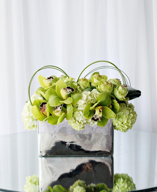 Modern luxury by the hidden garden flower decorations