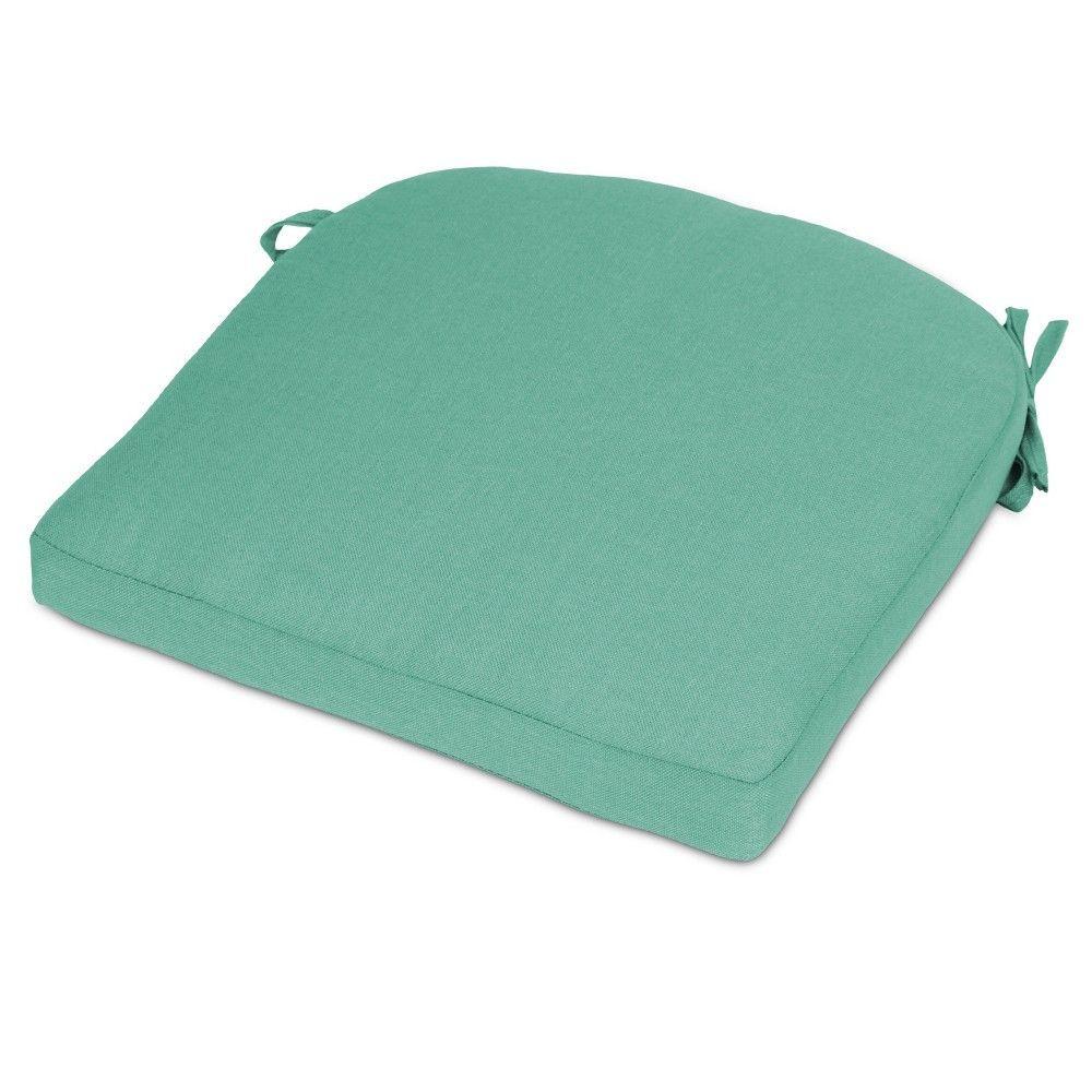 Round Back Seat Cushion   Turquoise   Threshold