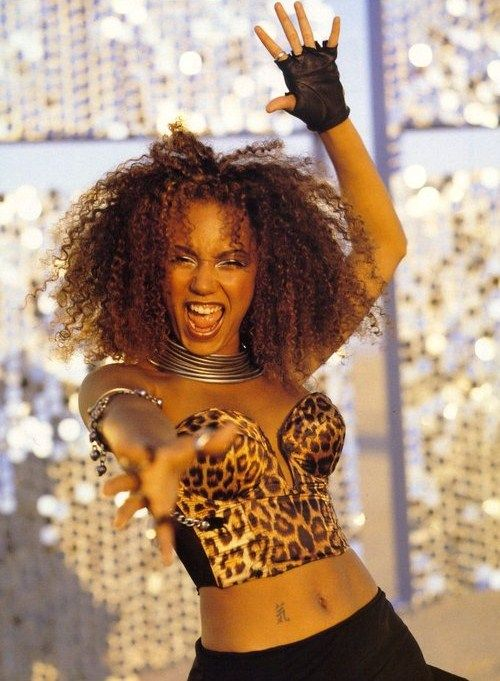 Fun fact for the day: Scary Spice is my personality ...Scary Spice Makeup