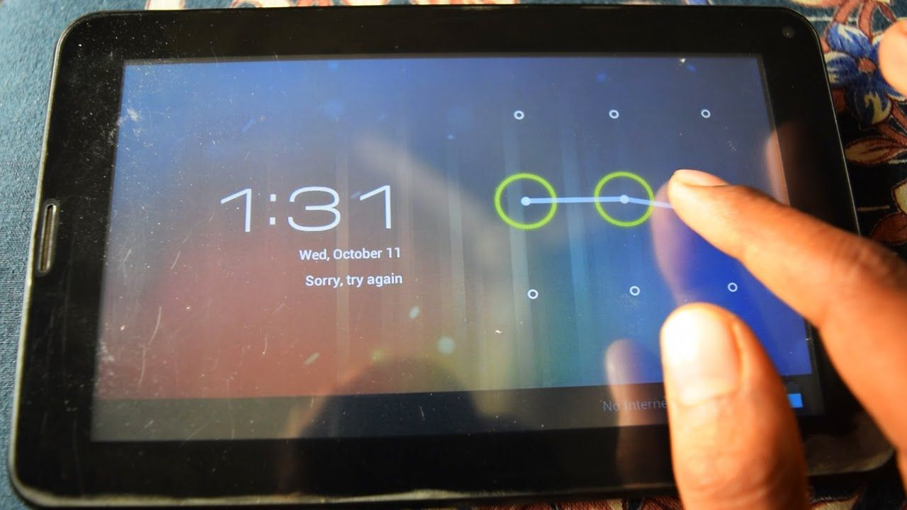 How to Hard Reset China Tablet By Software | Unlock Pattern Lock in