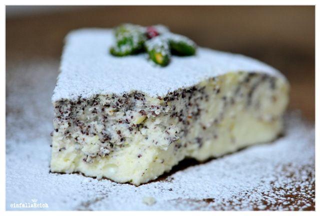 Quarkmohnkuchen Ohne Boden Deutsche Kuche Cake Cheesecake Muffins