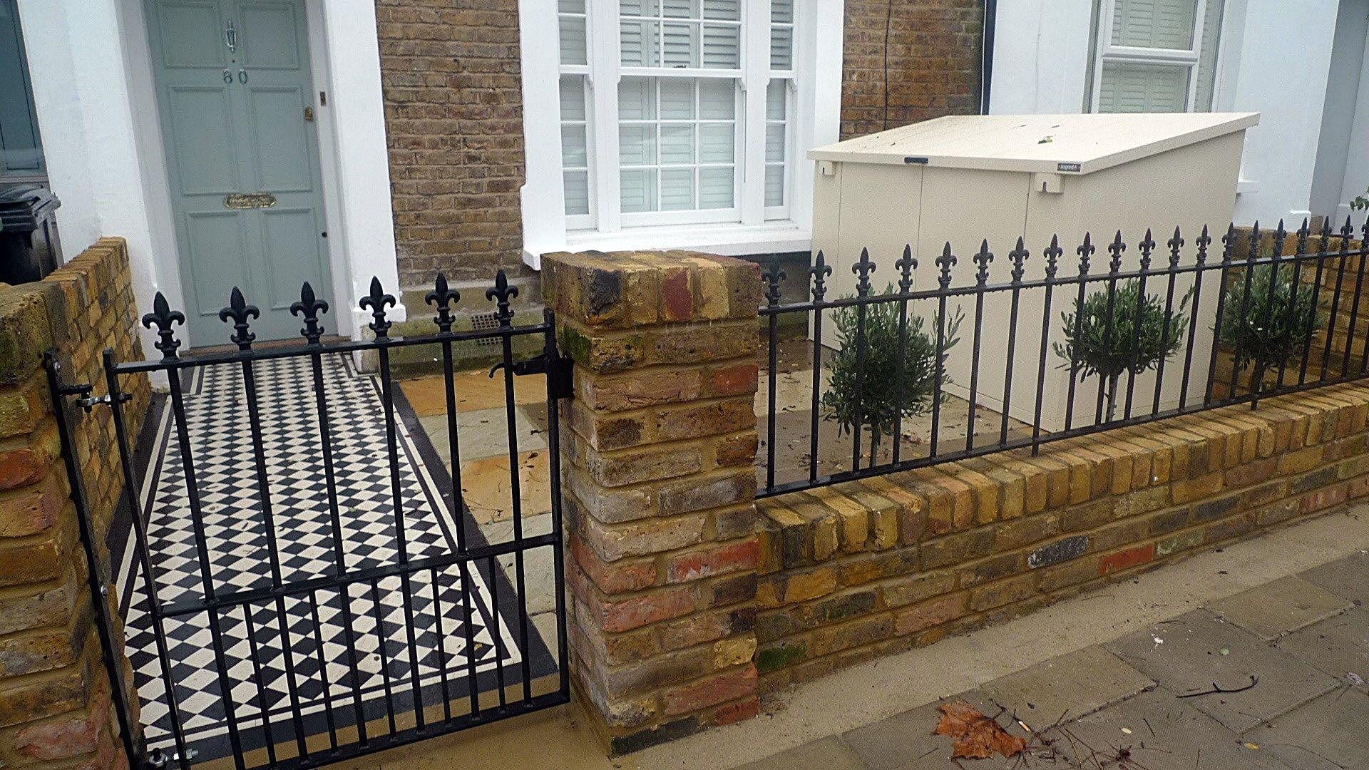 Terrace House Car Porch Design Malaysia In 2020 Brick Garden Garden Wall Porch Design