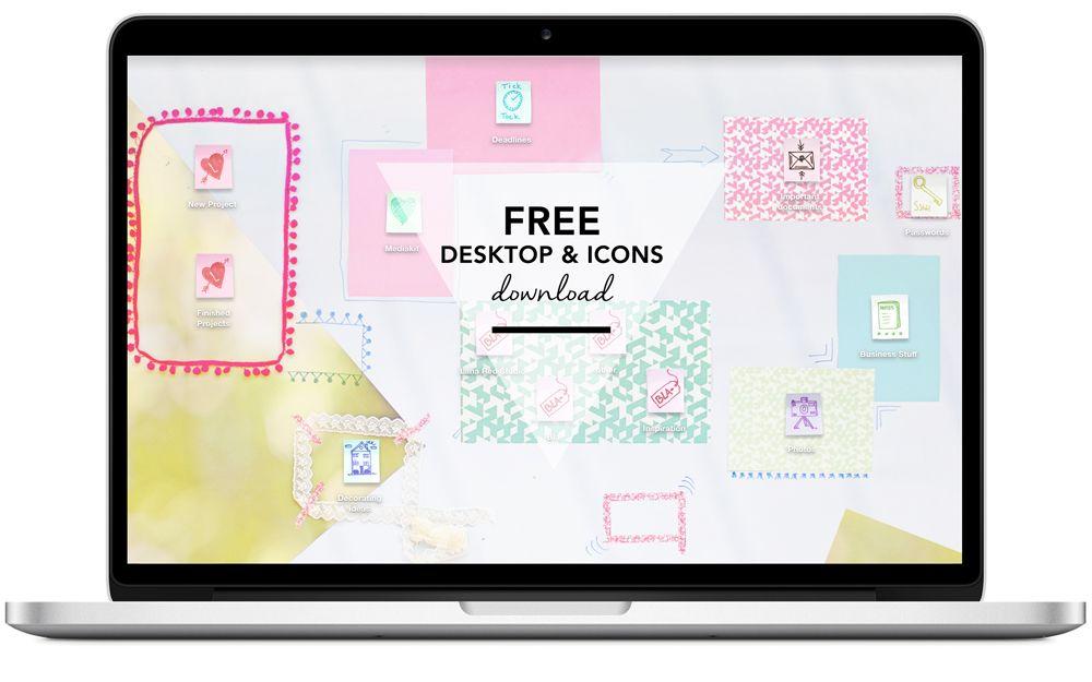 Tech Custom Desktop Icons And Wallpaper Desktop Icons Desktop Wallpaper Design Free Desktop Icons