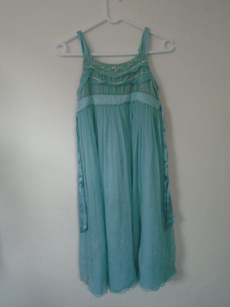 Light Dress Blue Monsoon