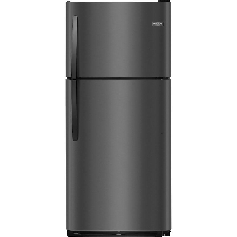 Frigidaire 204 cu ft top freezer refrigerator in