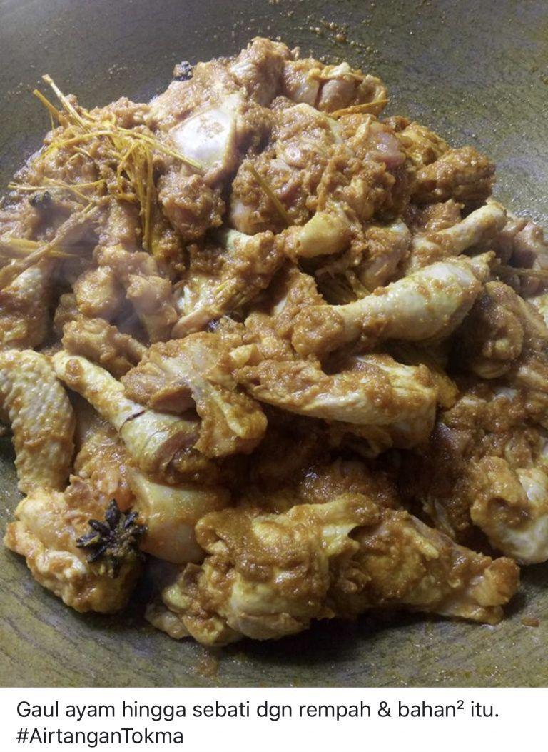 Resipi Ayam Masak Ungkep Legend Memang Sedap Dan Mudah Keluarga Resep Ayam
