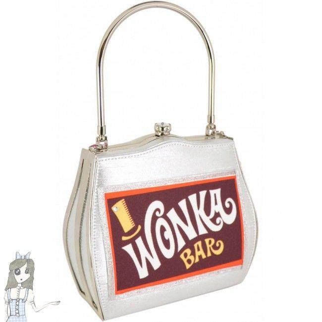 Limited Edition Chocolate Handbag Willy Wonka Bar Bag ~ Helen Rochfort ef8adc59067f7