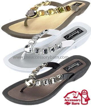 c6d0b289b02df Grandco Sandals for Women. Largest selection of Thong Beaded Sandals at The Accessory  Barn.