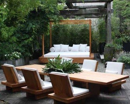 Donna Karan Launches First Urban Zen Furniture Line In Support Of Cultural  Preservation - DK Home Gloria Pinterest Patios And Spaces