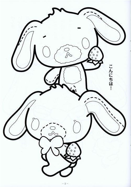 Download kawaii-Sugarbunnies-coloring-book-Sanrio-Japan-31039-5.jpg (500×713)   Coloring books, Kawaii ...