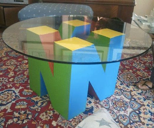 Nintendo 64 Coffee Table Base Want In 2019 Nerd Room