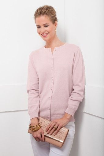 on feet images of outlet online discount sale Cardigan rose poudré Made in France 100% Cachemire. in 2019 ...