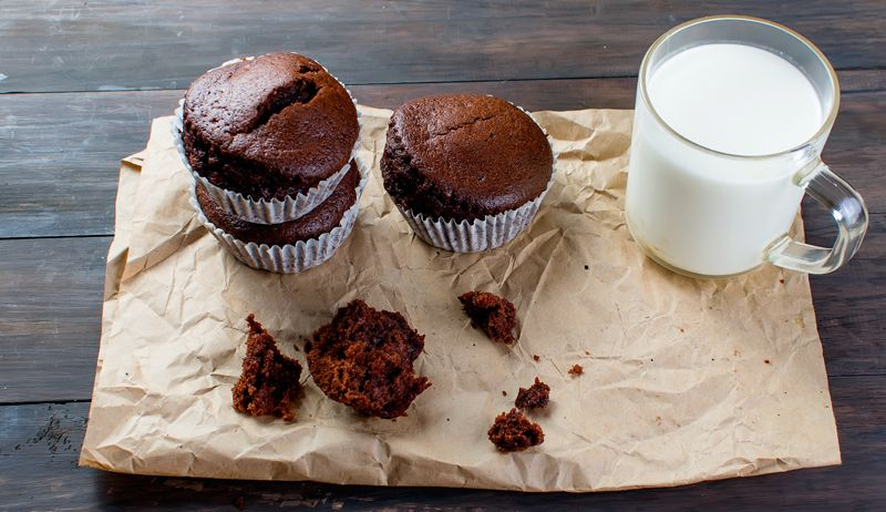 Rezept: Low-Carb Schoko-Muffins - Rezepte - Women's Health