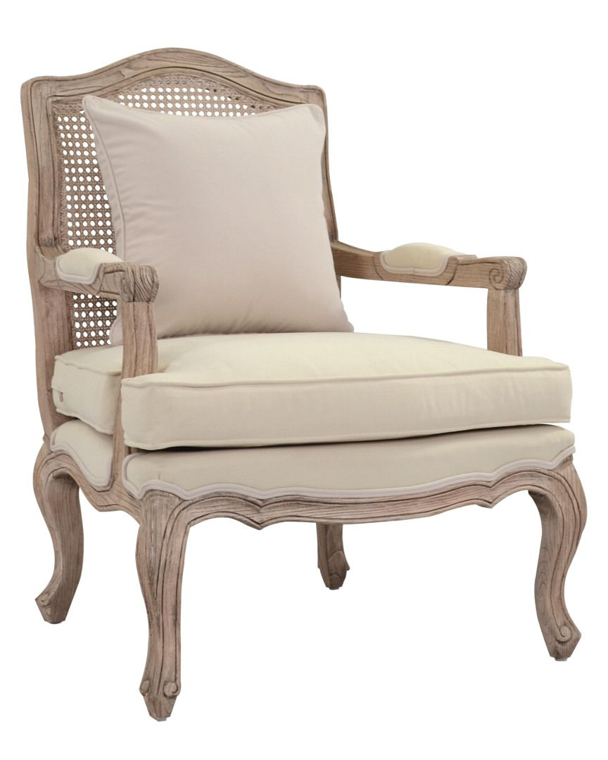 French Provincial Adele Occasional Chair How To Reupholster A Dining Room Cushion For Love Of Decor Armchair House