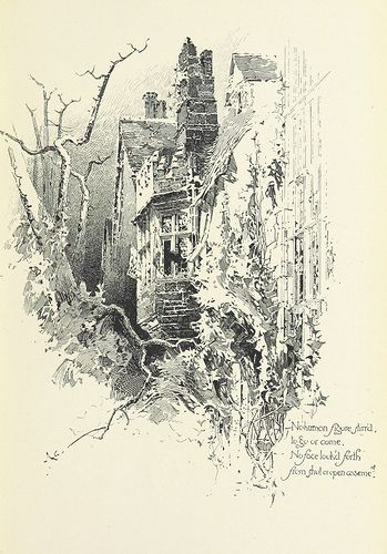 Image taken from page 115 of The Haunted House … Illustrated by H. Railton. With an introduction by Austin Dobson